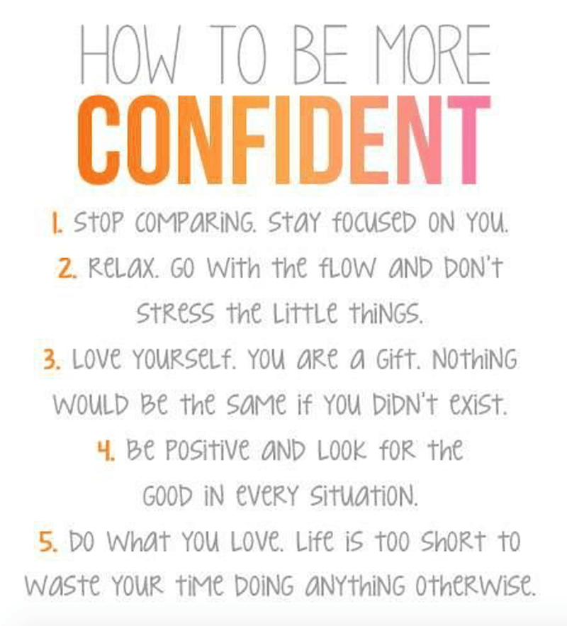 Quotes About Self Esteem And Confidence 125 Confidence ...