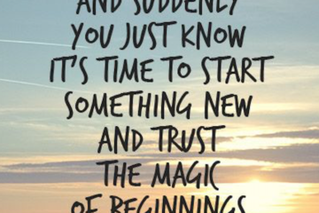quotes new beginnings chapter life