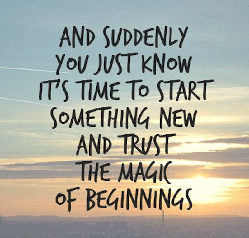 New Start Quotes: New Beginnings Quotes