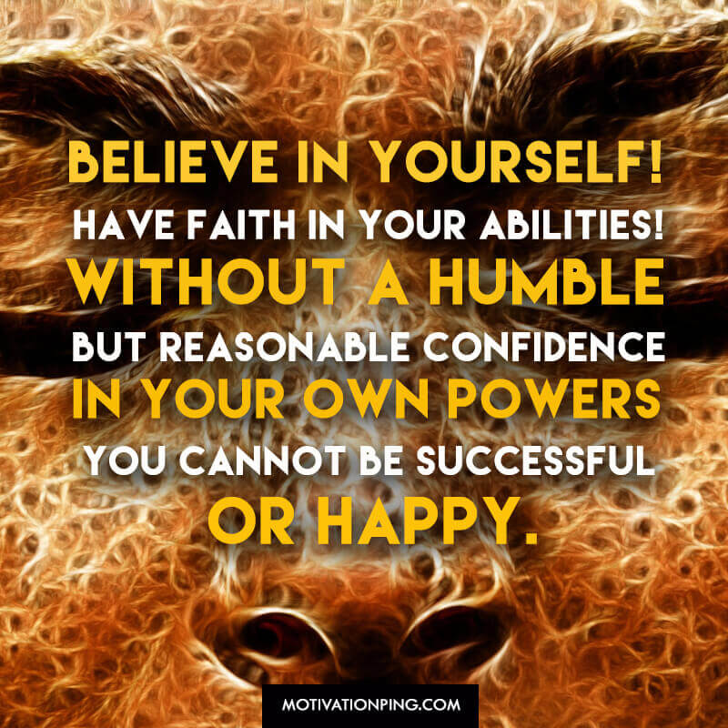 confidence quotes to believe in yourself updated